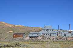Bodie State Historic Park. Bodie is a genuine California gold-mining ghost town. Visitors can walk down. This is interesting place in the United State Stock Photo