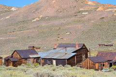 Bodie State Historic Park. Bodie is a genuine California gold-mining ghost town. Visitors can walk down. This is interesting place in the United State Stock Photography