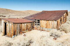 Bodie State Historic Park,  ghost town in the Bodie Hills, Mono Stock Photos