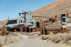 Bodie State Historic Park,  ghost town in the Bodie Hills, Mono Royalty Free Stock Image