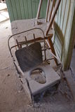Bodie State Historic Park: potty, chair Stock Photography