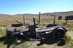 Bodie State Historic Park = vecchia automobile Immagini Stock Libere da Diritti