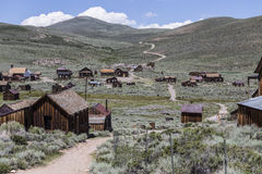 Bodie Wild West Ghost Town Stock Foto's