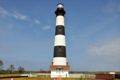 Bodie wyspy latarnia morska, NC, usa Fotografia Royalty Free