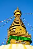 Bodinath Stupa Immagine Stock