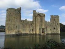 Bodium城堡东萨塞克斯郡英国 库存照片