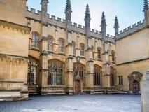 Bodleian图书馆牛津 免版税库存照片