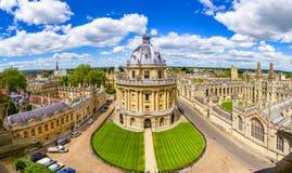 Bodleian图书馆,牛津大学,英国,英国 免版税库存照片