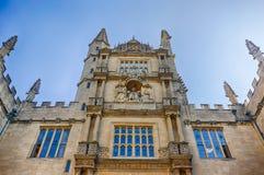 Bodleian biblioteka, Oxford, UK Obraz Stock