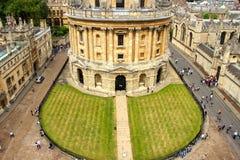 Bodleian biblioteka w Oxford Obrazy Stock