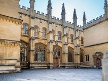 Bodleian-Bibliothek Oxford Lizenzfreie Stockfotos