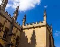 Bodleian-Bibliotheken oxford lizenzfreies stockbild