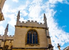 Bodleian-Bibliotheken oxford lizenzfreie stockfotos