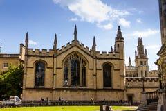 Bodleian-Bibliotheken oxford stockfoto