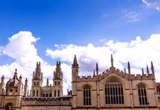 Bodleian-Bibliotheken oxford stockbild