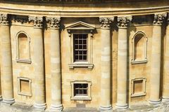 Bodleian library front. Bodleian library oxford library  front Stock Images
