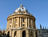 Bodleian Library, Oxford. Radcliffe camera, Oxford University, England Royalty Free Stock Photos