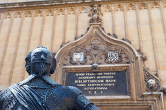Bodleian Library Oxford England Royalty Free Stock Images