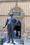 Bodleian Library Oxford England Stock Image
