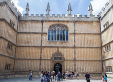 Bodleian Library Oxford England Royalty Free Stock Photography