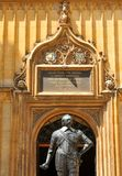 Bodleian Library, Oxford, England. OXFORD, UK - JULY 10, 2014: Architectural detail of the Bodleian Library, Oxford, United Kingdom Royalty Free Stock Photo