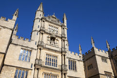 Bodleian Library in Oxford Stock Image