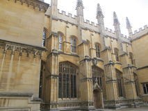 Bodleian Library in Oxford. United Kingdom, Europe Royalty Free Stock Image