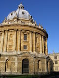 bodleian radcliffe oxford архива камеры Стоковые Фото