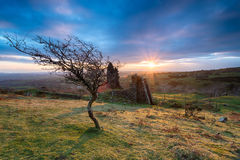 Bodmin Moor in Cornwall Royalty Free Stock Photo
