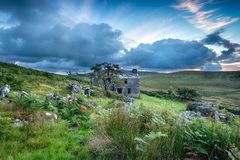 Bodmin Moor in Cornwall Royalty Free Stock Images
