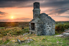 Bodmin Moor in Cornwall Stock Images