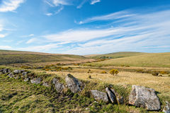 Bodmin Moor in Cornwall Stock Image