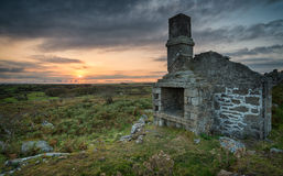 Bodmin Moor in Cornwall Stock Image