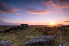 Bodmin Moor in Cornwall Stock Photography