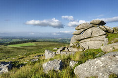Bodmin Moor in Cornwall Royalty Free Stock Photography