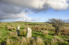 Bodmin Moor in Cornwall Royalty Free Stock Image