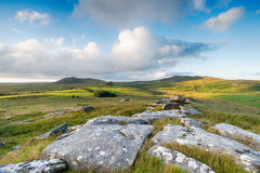 Bodmin Moor Landscape Royalty Free Stock Images