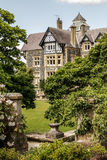 Bodnant庭院在威尔士 库存图片
