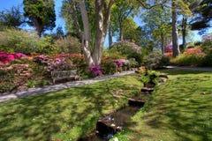Bodnant Garden Stock Images