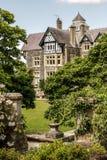 Bodnant-Garten in Wales Stockbild