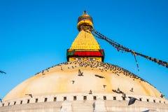 Bodnath. The Great stupa Bodnath in Kathmandu, Nepal Stock Images