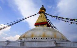 Bodnath stupa royaltyfri foto