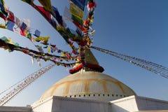 Bodnath Stupa. In Kathmandu, Nepal stock photo