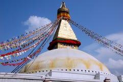 Bodnath stupa in Kathmandu, Nepal Stock Photo