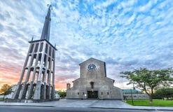 Bodo katedra w Nordland okręgu administracyjnym, Norwegia Obraz Stock