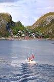 Bodo, Noorwegen royalty-vrije stock foto's