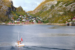 bodo norway Royaltyfria Bilder
