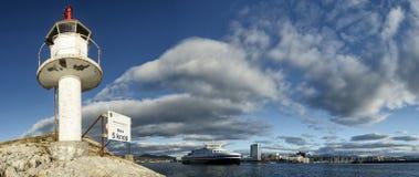 Bodo pasażerski prom, Norwegia II Obraz Royalty Free