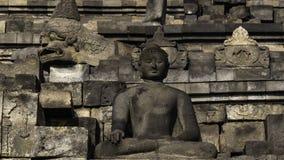 Bodobudur Buddist świątynia w Jogja obrazy royalty free