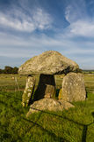 Bodowyr Burial Chamber Royalty Free Stock Photography